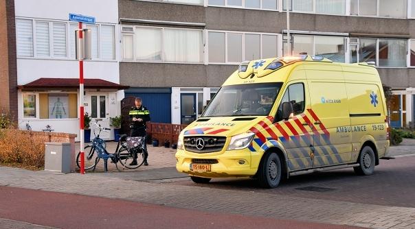 Gewonde bij ongeluk in Oost-Souburg.