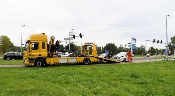 Forse aanrijding N290 Sint Jansteen.