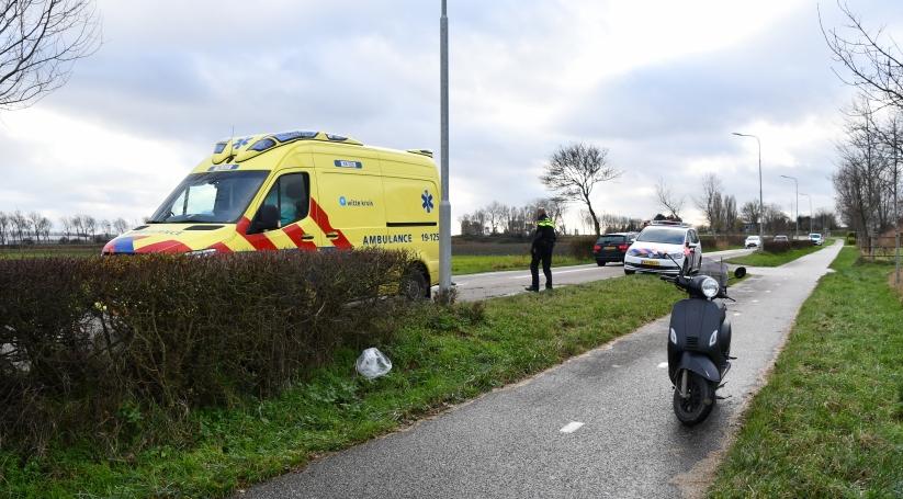 Twee gewonden bij ongeluk Arnemuiden.