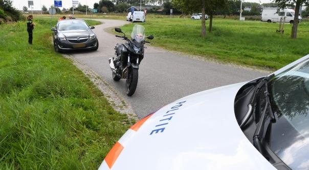 Motorrijder gewond bij aanrijding Haamstede.