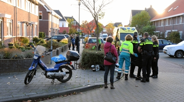 Bromfietsster gewond bij ongeval Middelburg.