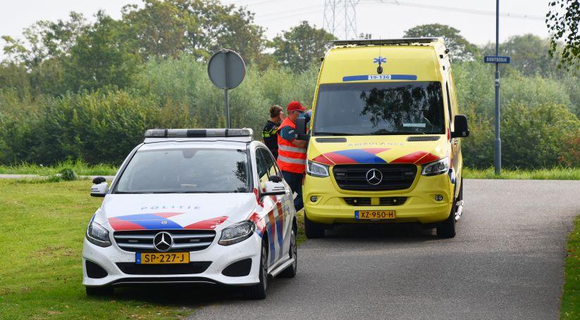 Fietser gewond bij ongeluk Kwadendamme.