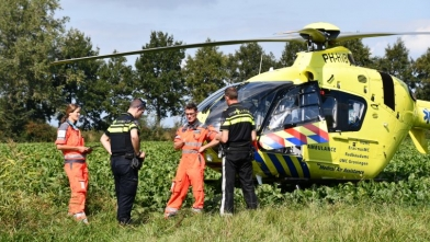 Traumahelikopter ingezet in Nisse