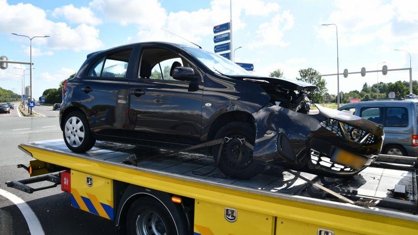 Rijbewijs bestuurder ongeluk A256 ingenomen.