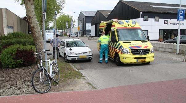 Fietser gewond na botsing in Goes.