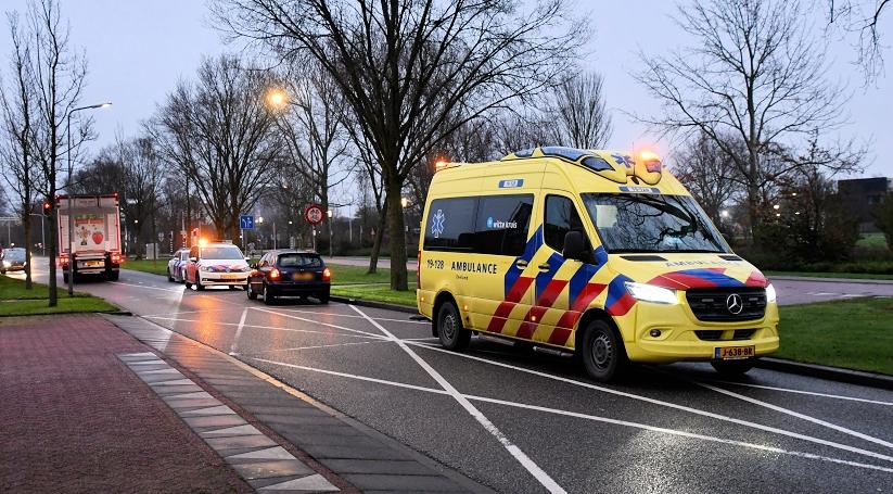Voetganger aangereden in Vlissingen.