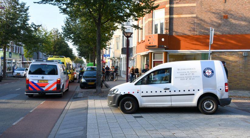 Persoon gewond bij botsing in Vlissingen.
