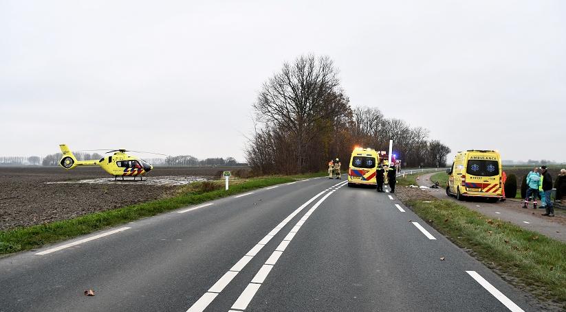 Ernstig ongeluk Terneuzenstraat Zaamslag.