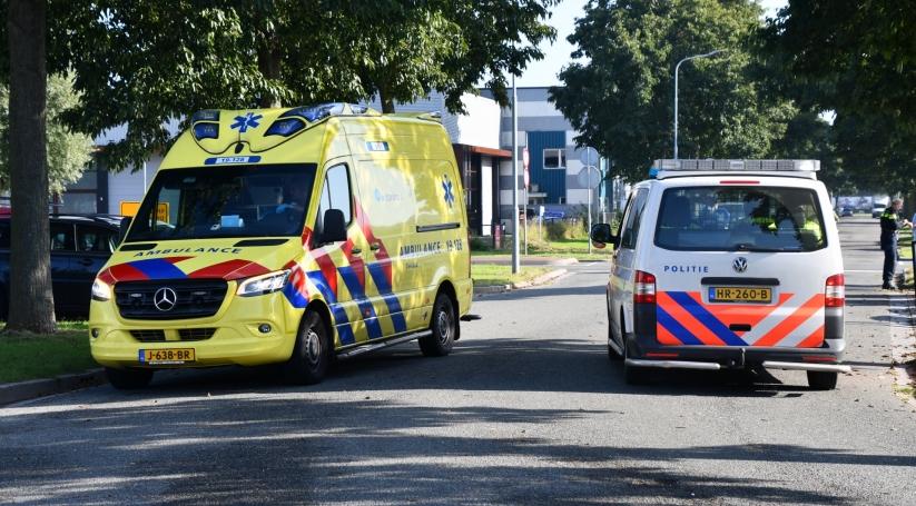 Botsing tussen personenauto's in Middelburg.