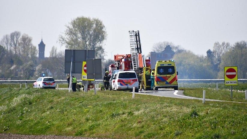 Dodelijk ongeluk Tractaatweg N62 Westdorpe.