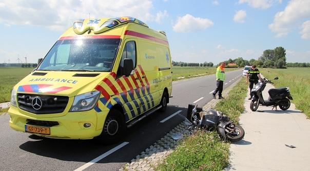 Gewonden bij botsing fietspad Arnemuiden.