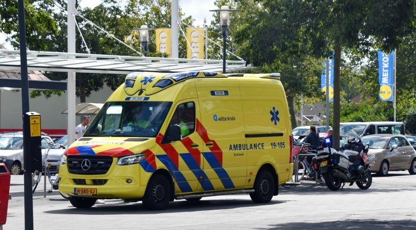 Letsel bij ongeluk Papegaaienburg Vlissingen.