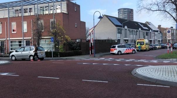 Verkeersongeluk op kruising in Vlissingen.
