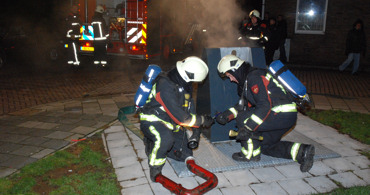 Containerbrand in Vlissingen