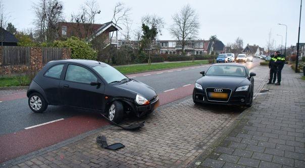 Gewonde bij ongeluk Breeweg Yerseke.