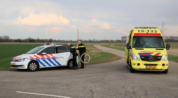 Wielrenner gewond bij ongeluk Zaamslag.