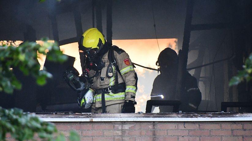 Grote brand Hogeweg #Vlissingen: geen brandstichting:.