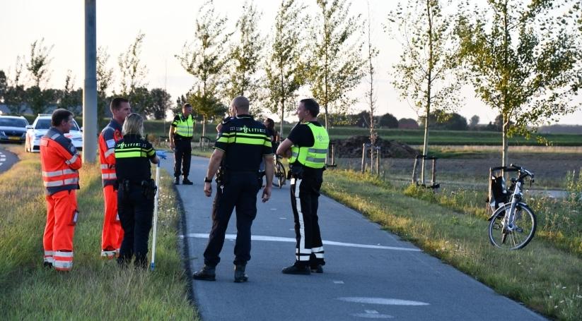 Ernstig ongeluk met fietser Julianaweg 's-Heerenhoek.