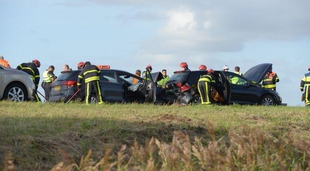 Flink wat hinder door ongelukken A4 en A58.
