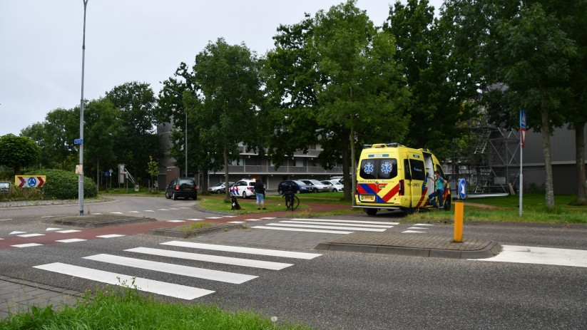 Fietser aangereden op Torenweg Middelburg.