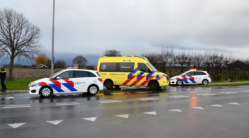 Fietser aangereden bij 's-Gravenpolder.