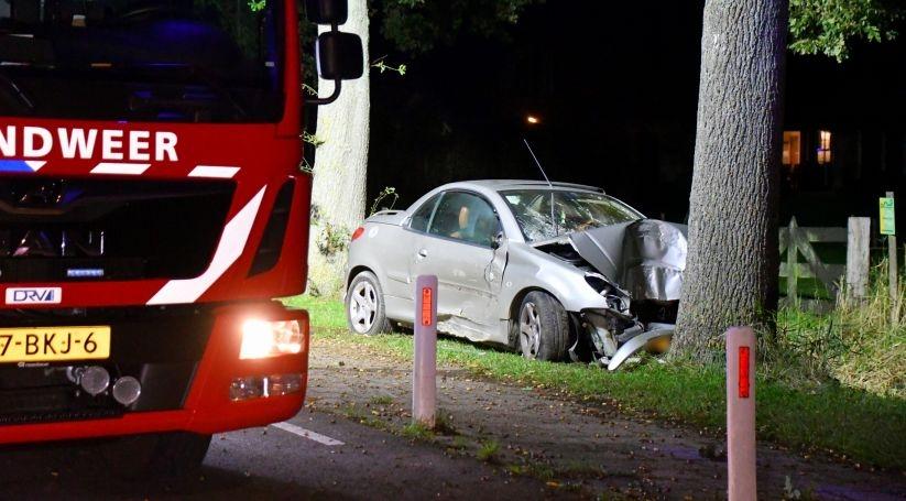 Ernstig eenzijdig auto-ongeluk Aardenburg.