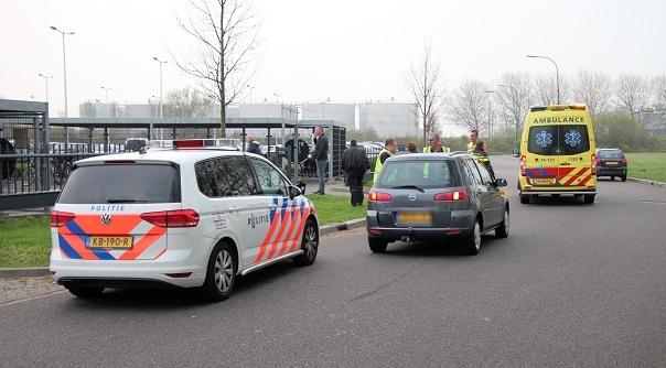 Fietsster aangereden in Vlissingen.