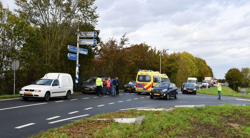 Gewonden bij aanrijding Molendijk Yerseke.