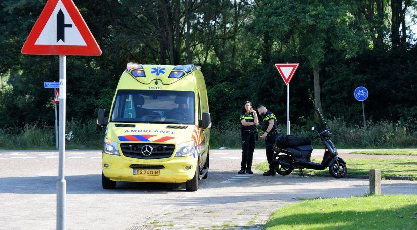 Letsel bij aanrijding in Vlissingen.