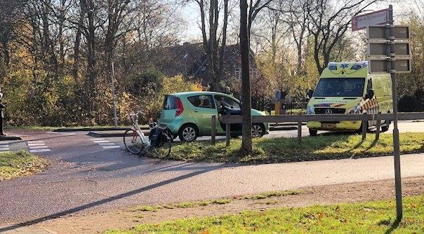 Fietser gewond bij aanrijding in Middelburg.