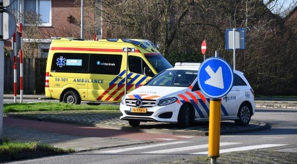 Gewonde bij verkeersongeval Vlissingen.
