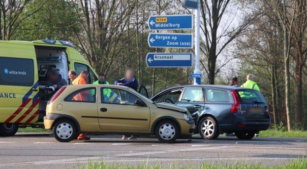 Letsel bij ongeluk Sloeweg Vlissingen.
