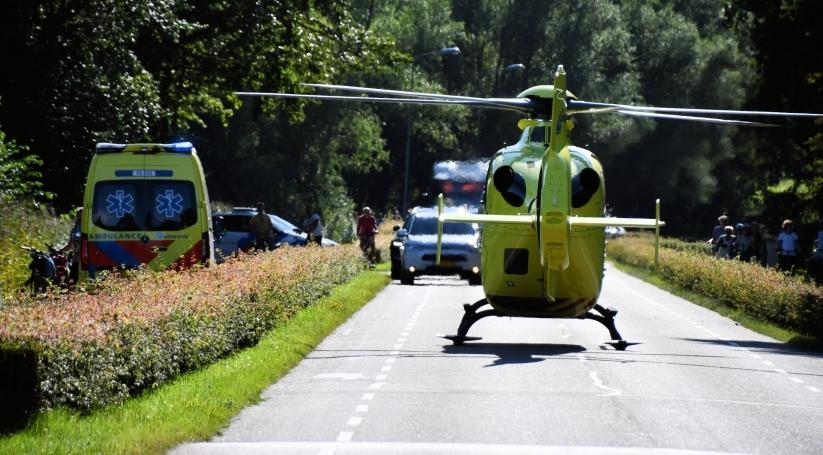 Traumahelikopter ingezet voor ernstig ongeluk Oostkapelle.