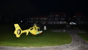 Traumahelikopter landt in centrum Middelburg