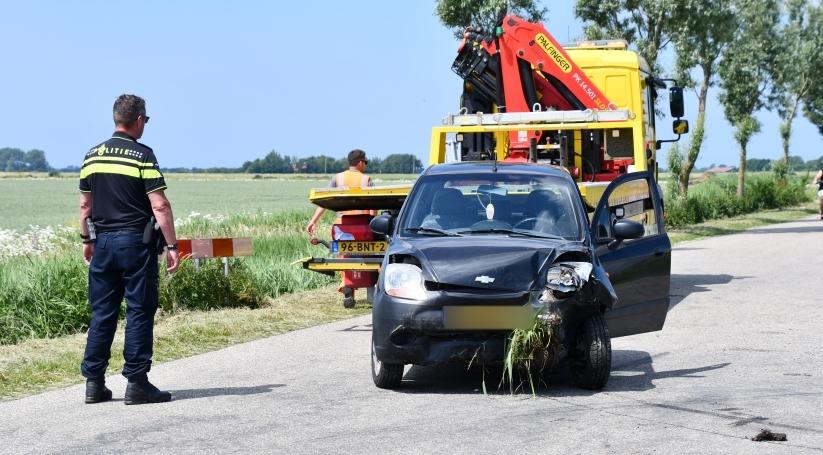 Drie gewonden bij ongeluk in Kerkwerve.