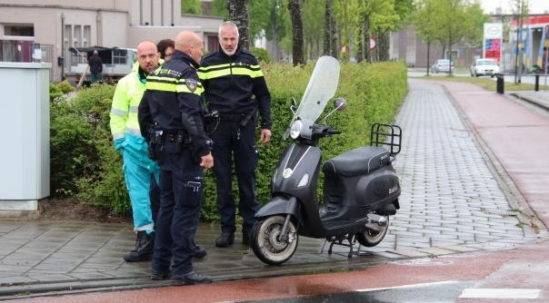 Snorfietster aangereden in Vlissingen.