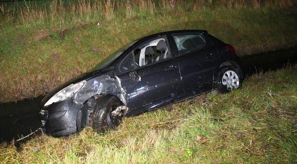 Flinke schade bij botsing N59 Kerkwerve.