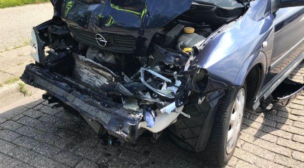 Gewonde bij ongeluk N59 Nieuwerkerk.