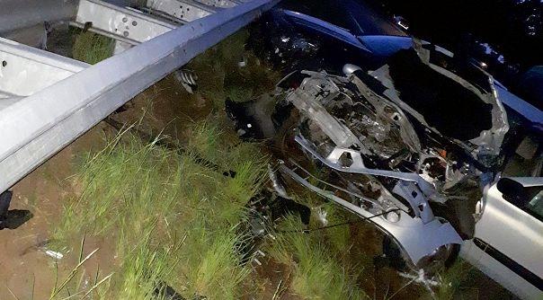 Goesenaren gewond bij ongeluk A58.