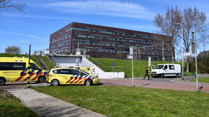 Scooterrijdster gewond bij botsing Middelburg.