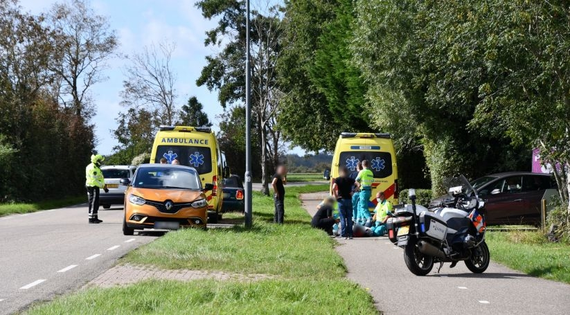 Gewonden bij ongeluk Prelaatweg Westkapelle.