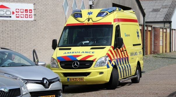 Melding ongeval letsel Vlissingen.