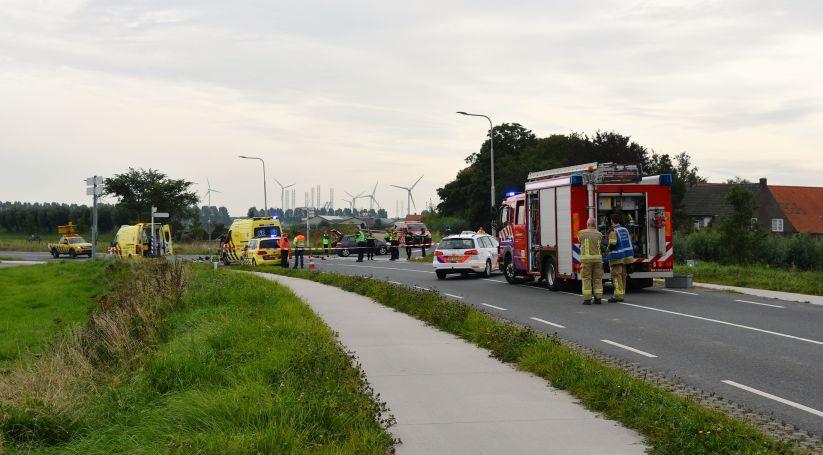 Dodelijk ongeluk Langeweg Arnemuiden.