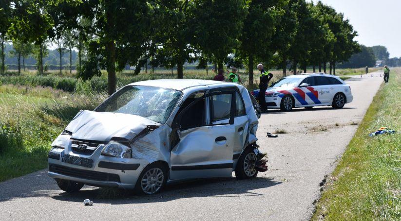 Doorrijder ongeval letsel opgepakt in Hulst.