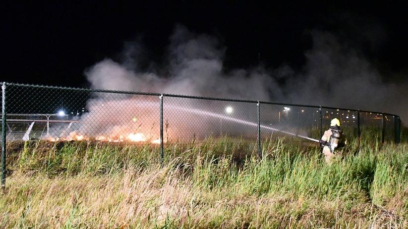 Buitenbrand op aquaduct N57 Middelburg - HVZeeland.nl