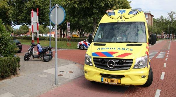 Snorfietser aangereden in Vlissingen.