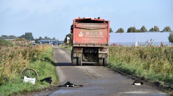 Meisje aangereden door vrachtwagen Yerseke.