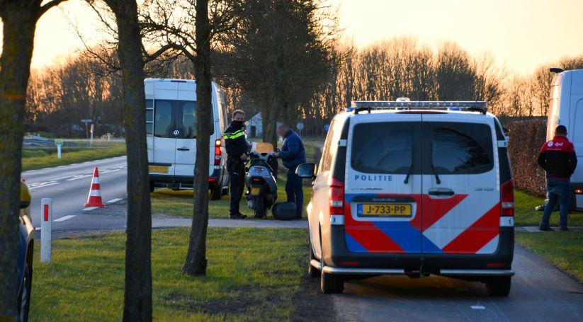 Lichtgewonde bij ongeval Postweg Yerseke.