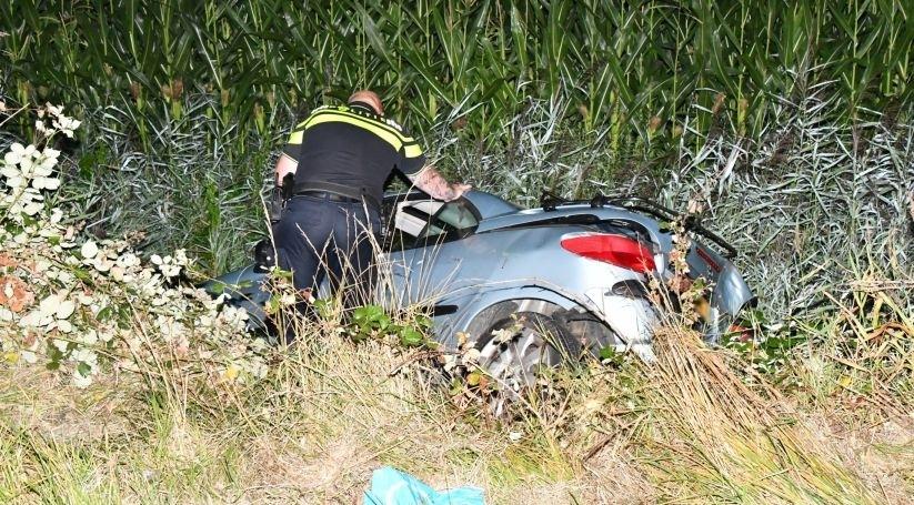 Arrestatie en gewonde bij ongeluk in Veere.
