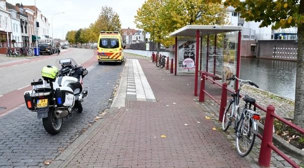 Persoon gewond bij ongeval Middelburg.